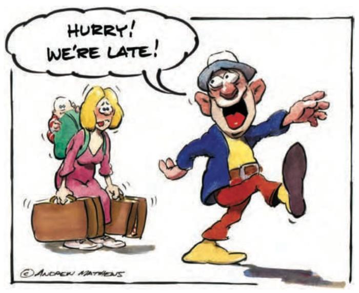 """""""Nhanh lên em! Chúng ta trễ mất."""""""